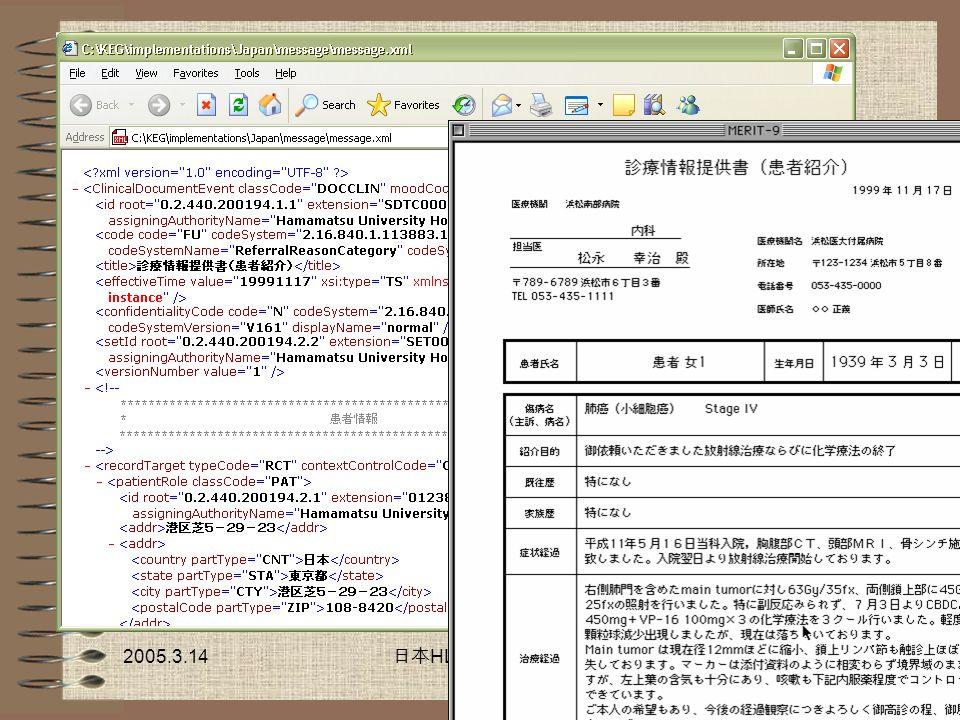 2005.3.14 HL7 18 HL7 CDA R2 HL7