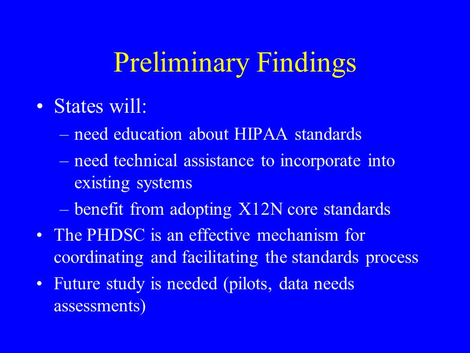 Category 3: Data Content Issues and Recommendations Gestational Age Pharmacy data Patient demographics: –education level –income –functional status –county code Patient consent/immunization encounters RECOMMENDATION: UNRESOLVED ISSUES, FUTURE STUDY NEEDED: –Pilot studies –How are patient demographics interrelated.