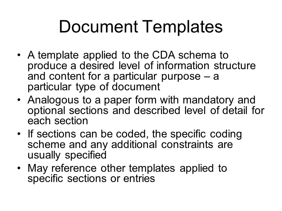 How are Templates Created.