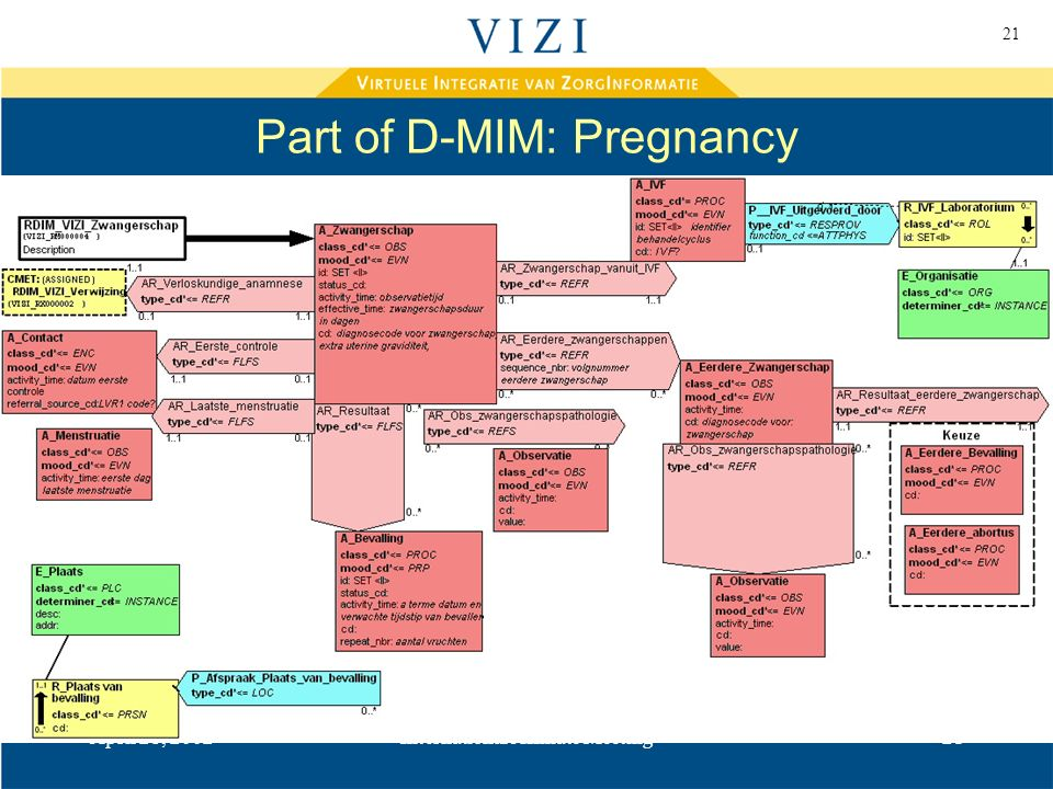 21 April 28, 2002International Affiliate Meeting21 Part of D-MIM: Pregnancy