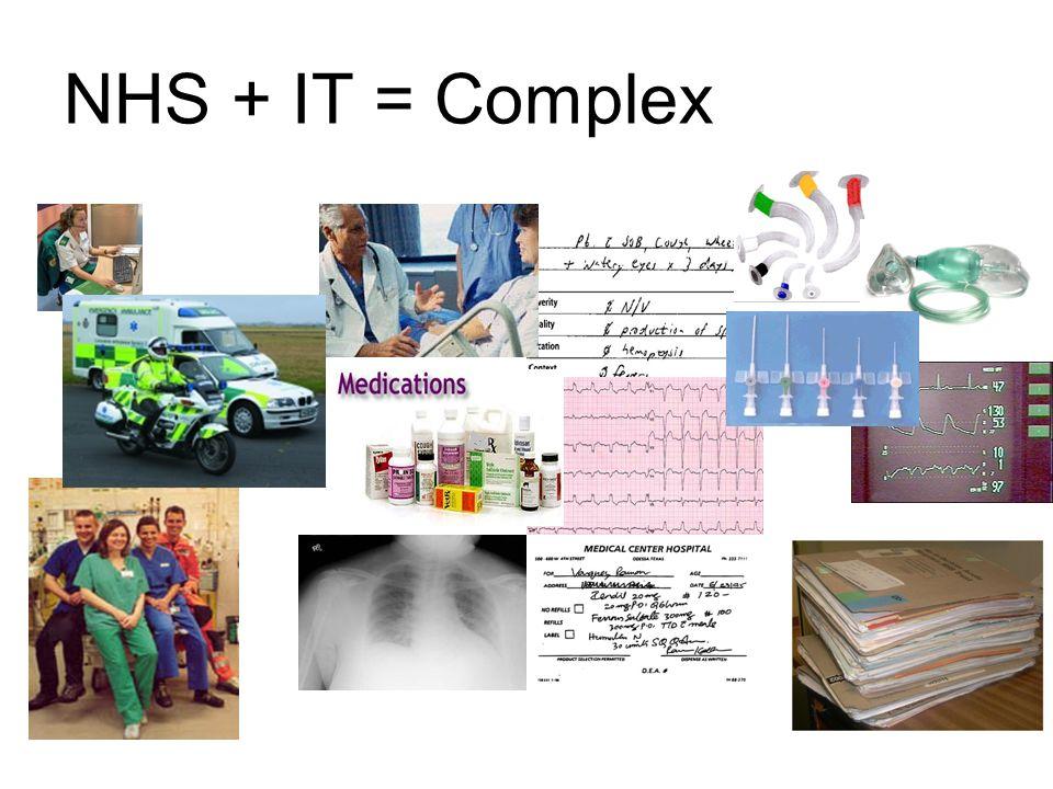 NHS + IT = Complex