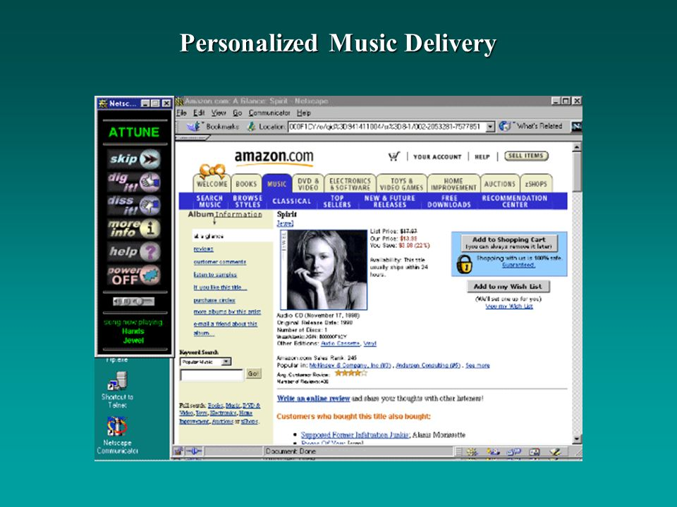 Personalized Music Delivery