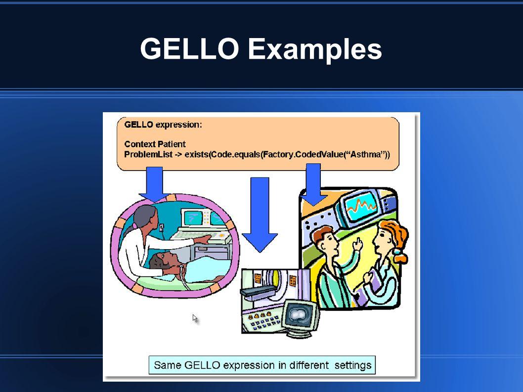 GELLO Examples