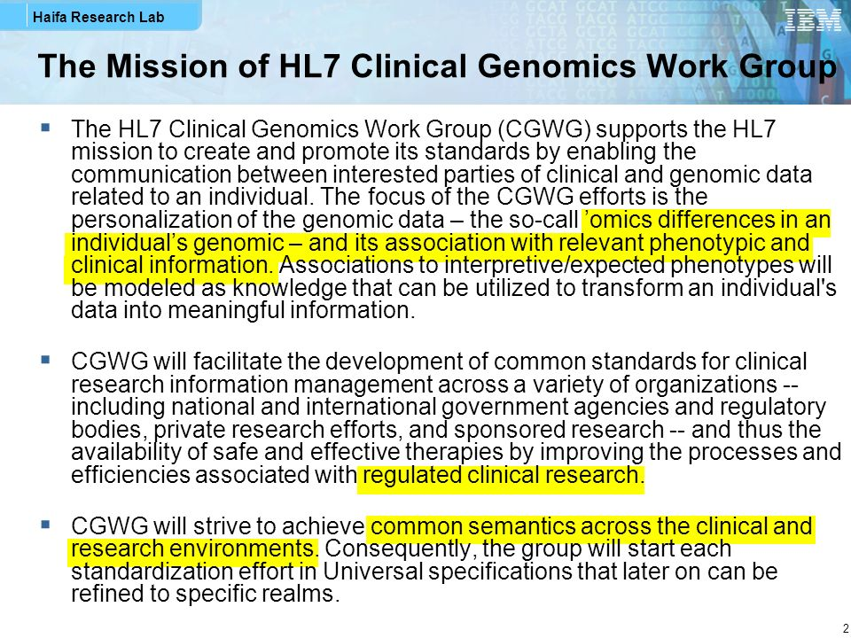Haifa Research Lab 33 GTR Rendered – Test Information Section Draft that has not been clinically validated