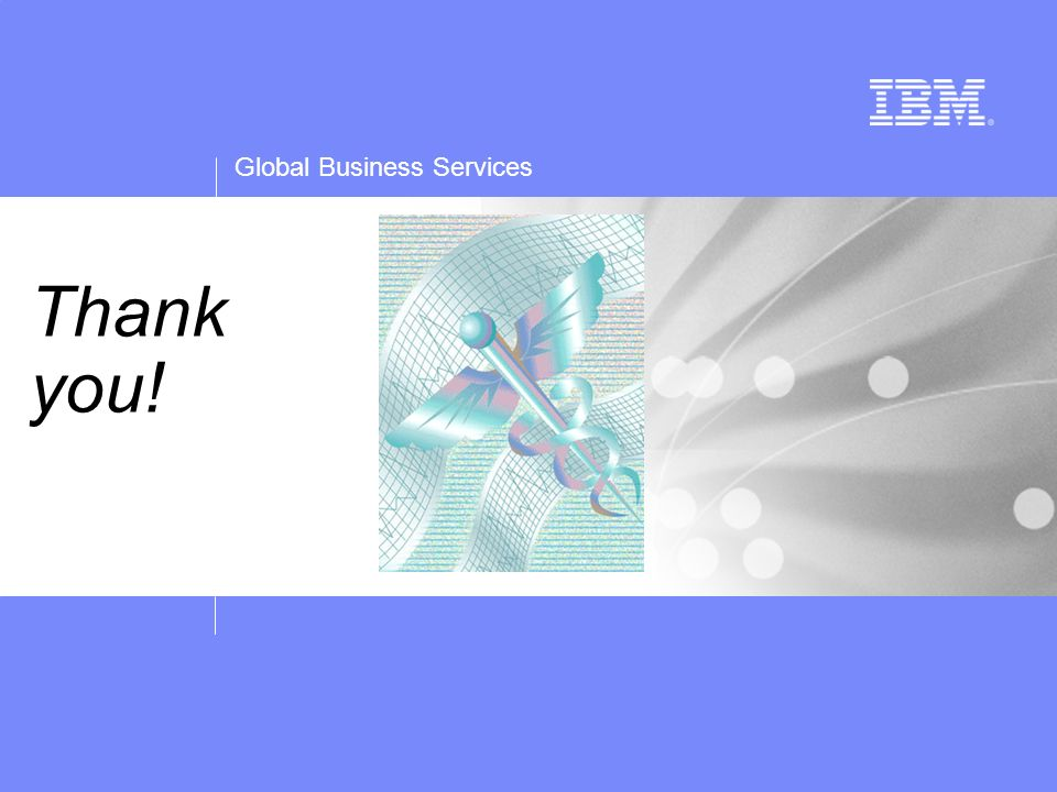 Global Business Services Thank you!