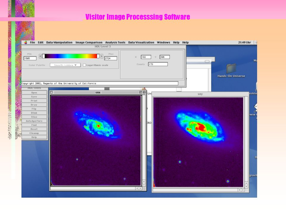 Visitor Image Processsing Software