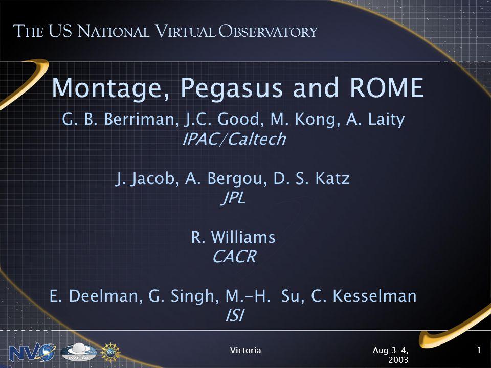 Aug 3-4, 2003 Victoria12 ROME Interactive Request Monitor