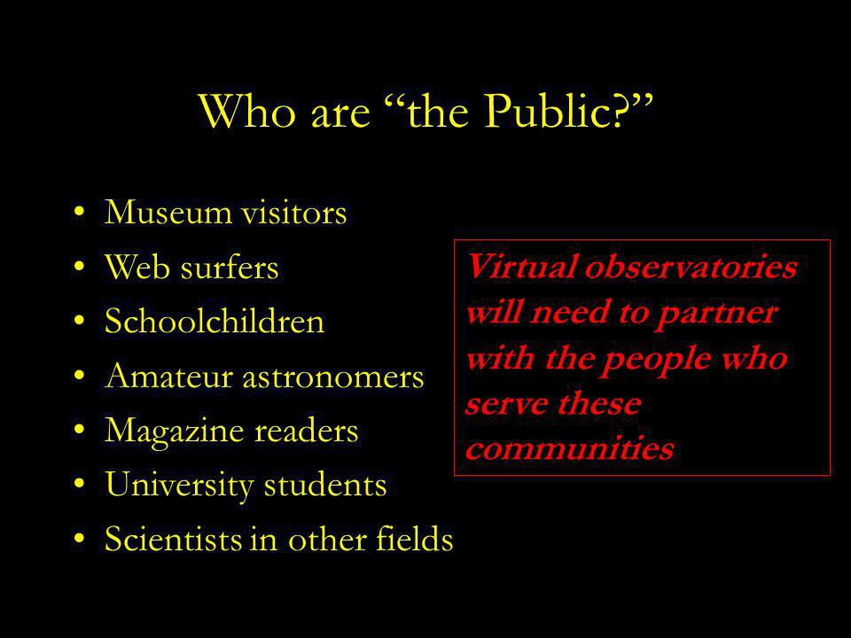 Who are the Public.