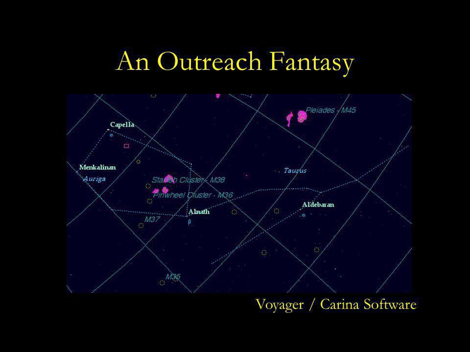 An Outreach Fantasy Voyager / Carina Software