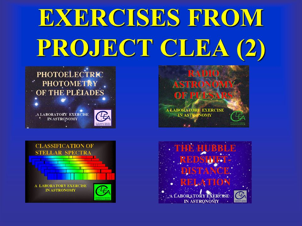 EXERCISES FROM PROJECT CLEA (2)