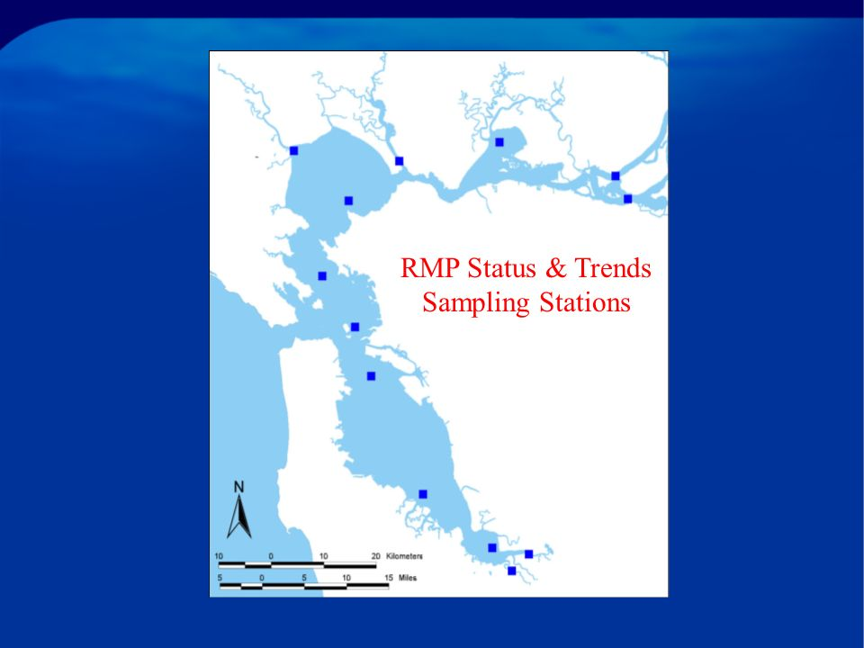 RMP Status & Trends Sampling Stations