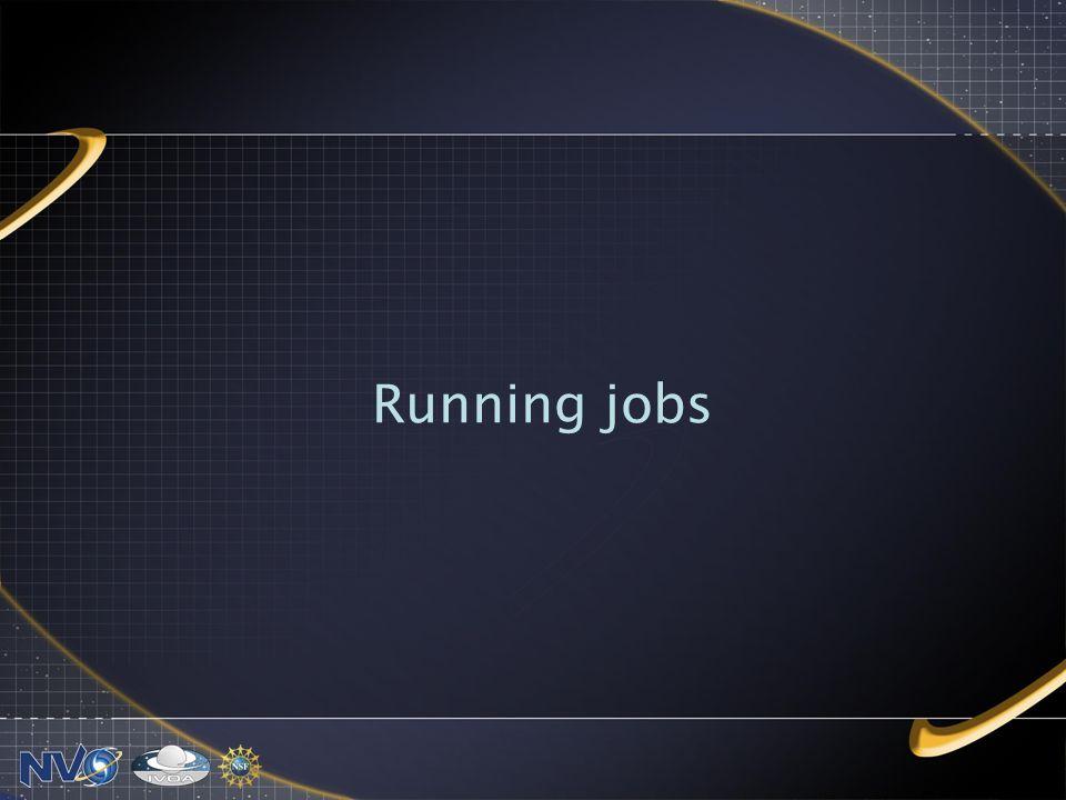 Running jobs