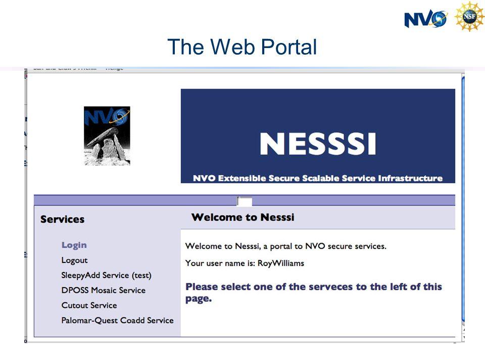 The Web Portal