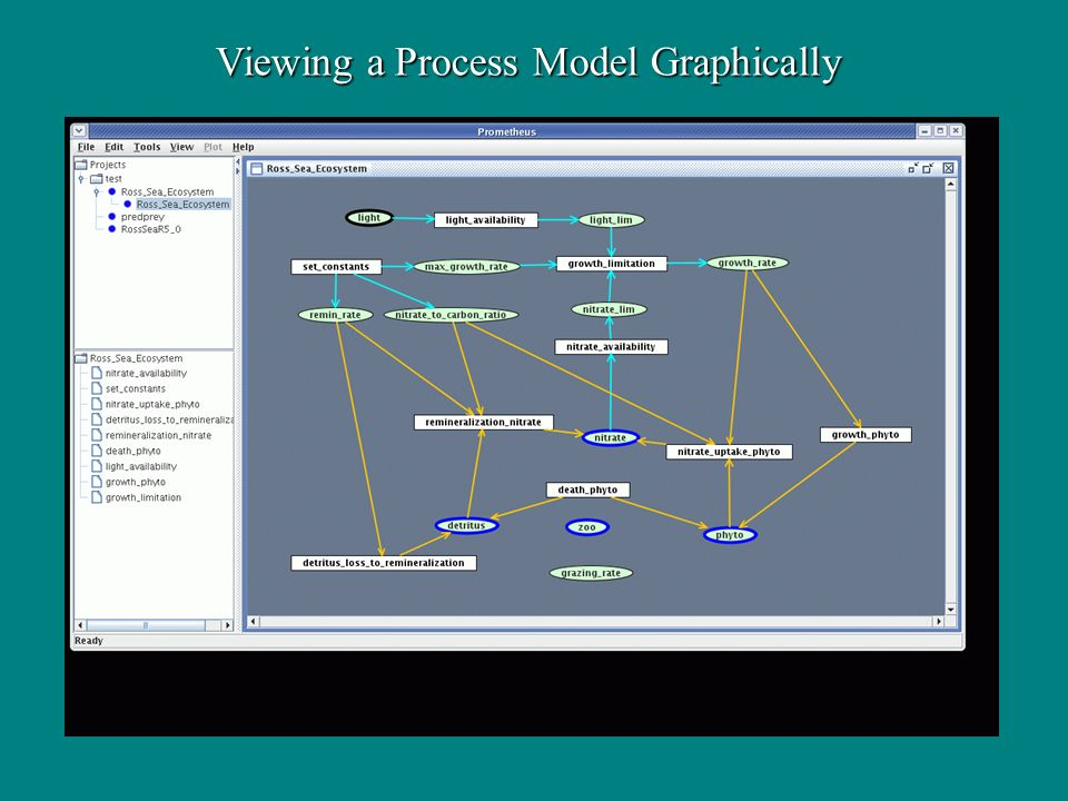 Viewing a Process Model Graphically