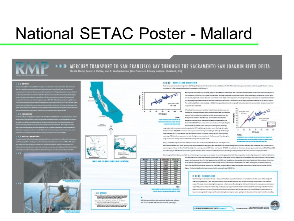 National SETAC Poster - Mallard