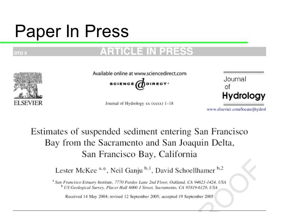 Paper In Press