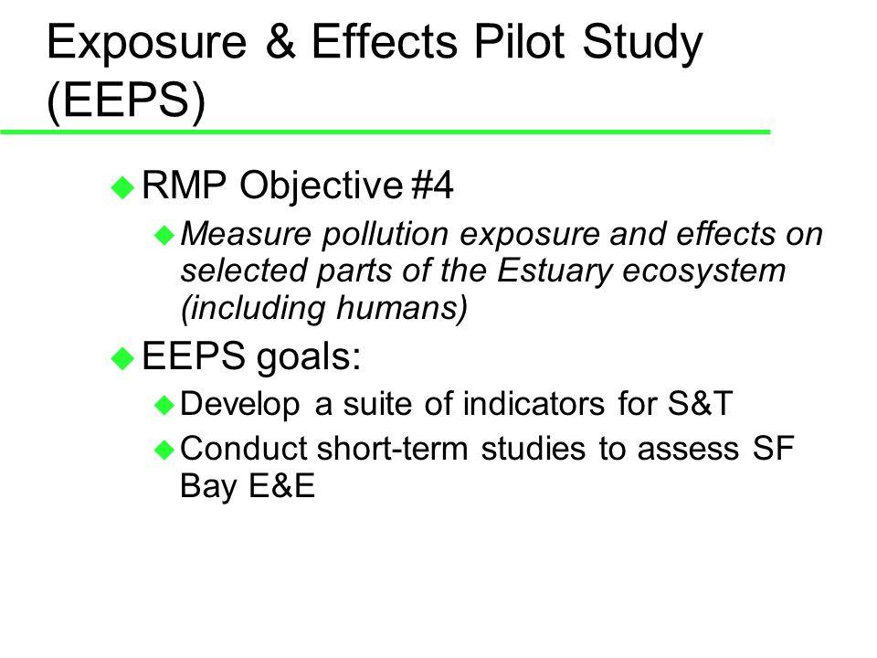 EEPS – 2005 Shiner Surf Perch Study Preliminary results: Skewed sex ratios toward females.