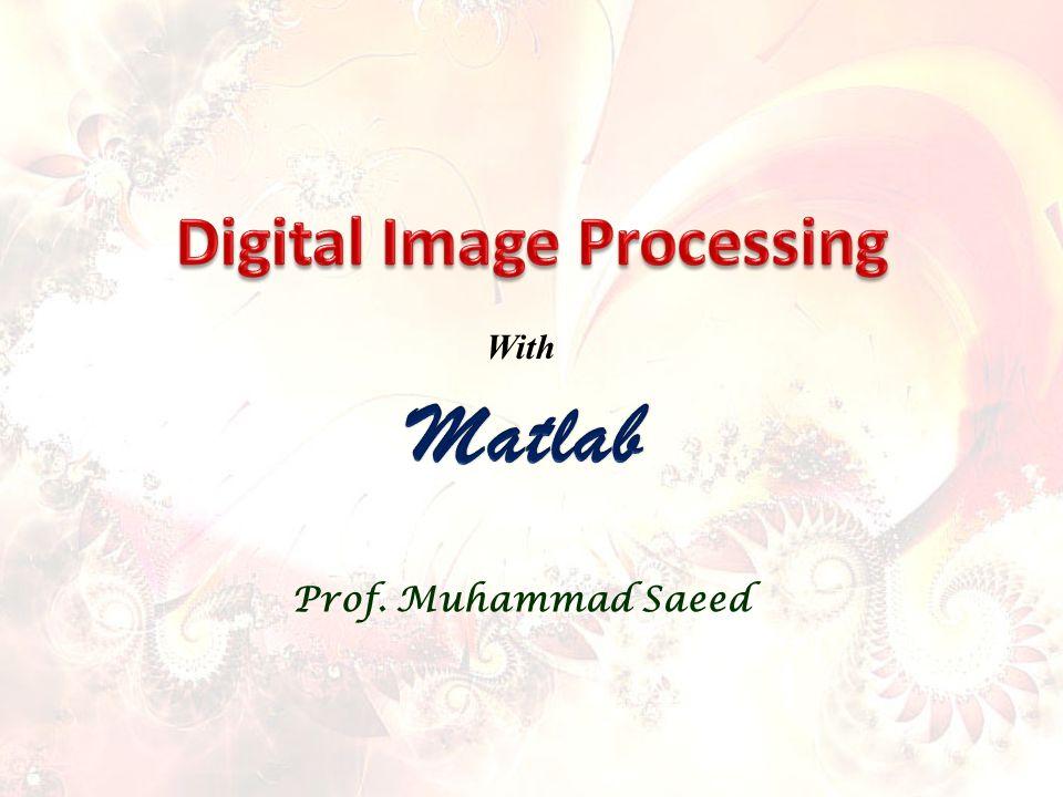 Prof. Muhammad Saeed With