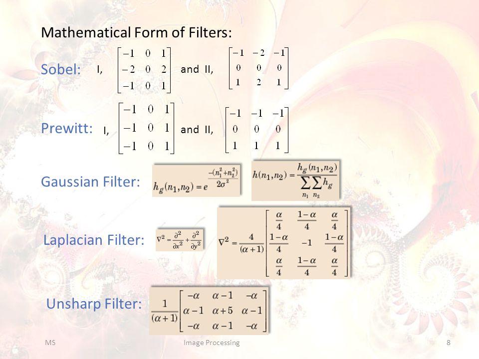 Linear Spatial Filters in action: kid=imread( kid02.jpg ); w=[1 1 1;1 -8 1;1 1 1]; C=imfilter(kid, w, corr , replicate , same ); subplot(1,2,1);imshow(kid);title( Original , FontSize ,20); subplot(1,2,2);imshow(4*C);title(mat2str(w), FontSize ,20); 1.