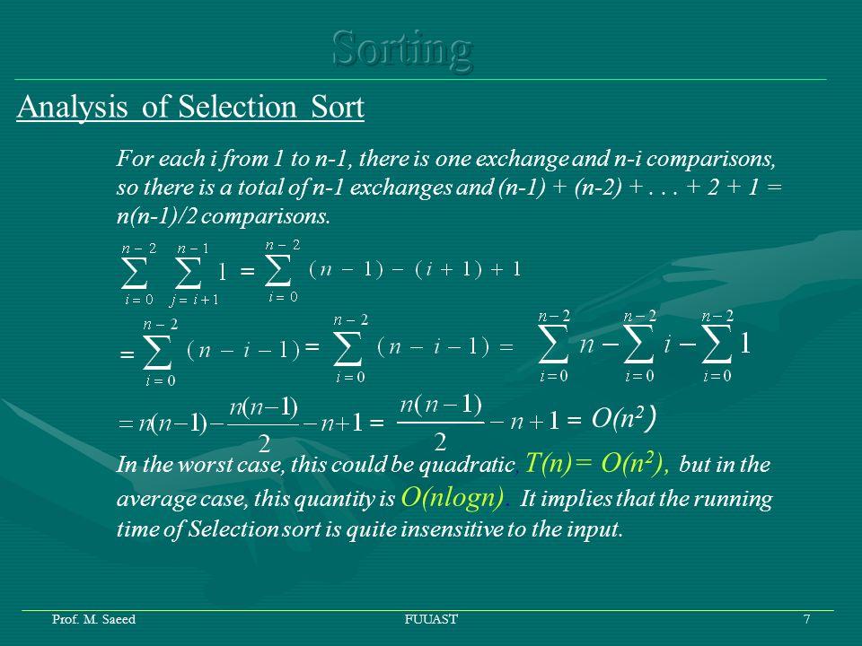 Prof.M. SaeedFUUAST8 3.