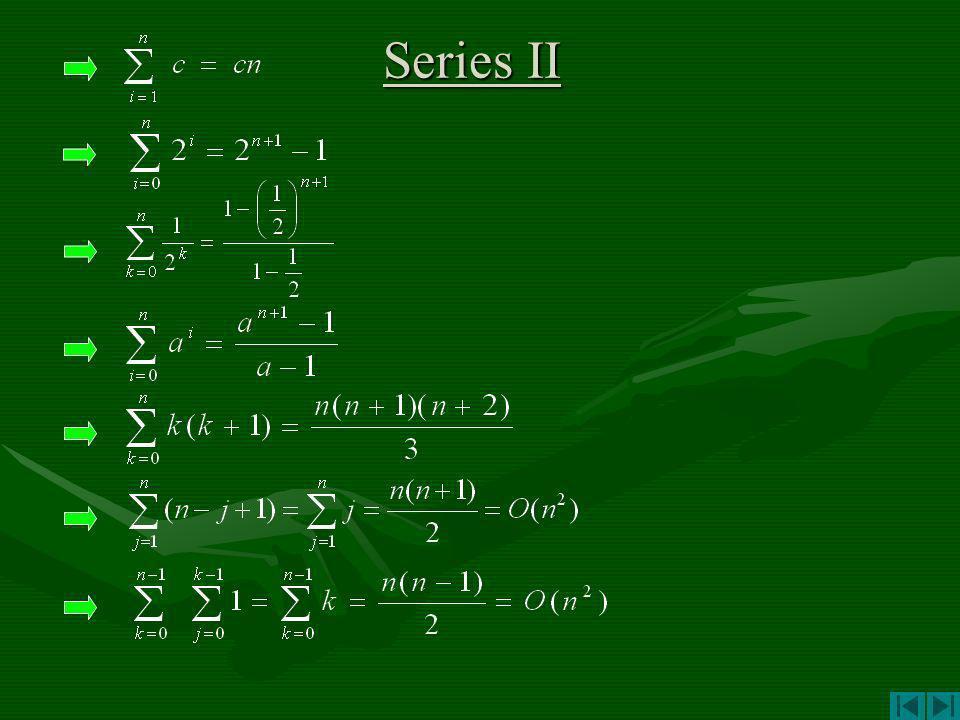Series II