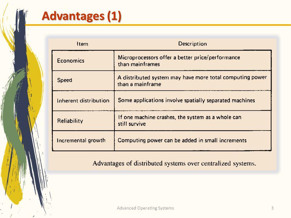 3 Advantages (1)