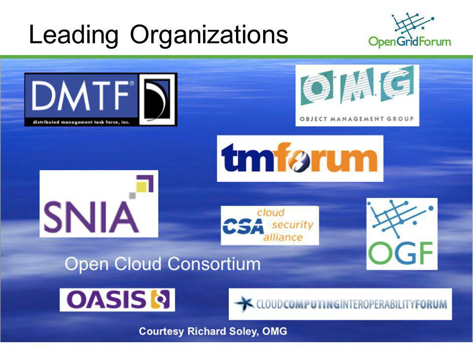 © 2009 OpenGridForum Leading Organizations