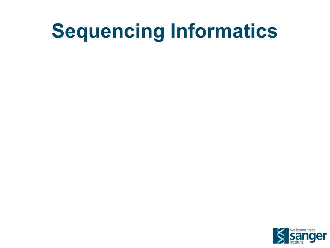 Sequencing Informatics