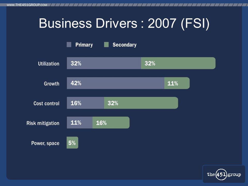 Business Drivers : 2007 (FSI)