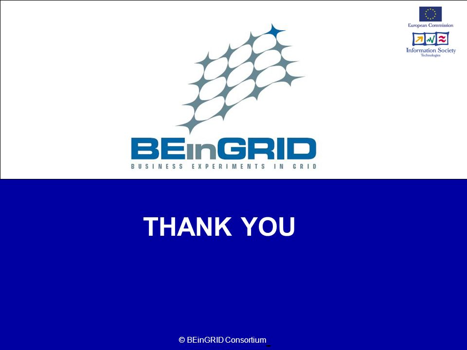 THANK YOU © BEinGRID Consortium