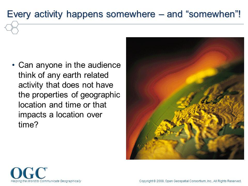 Copyright © 2008, Open Geospatial Consortium, Inc., All Rights Reserved. OGC Sensor Web