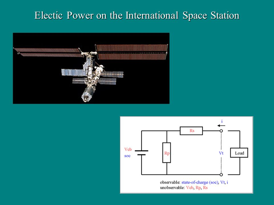 Electic Power on the International Space Station