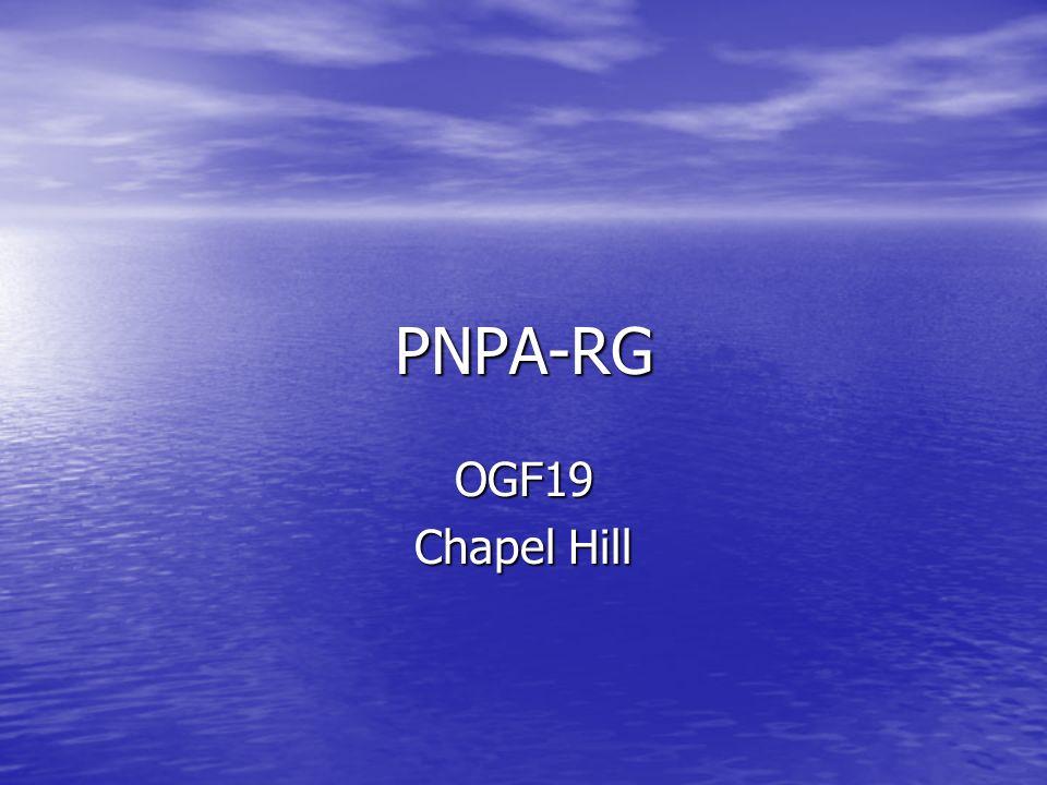 PNPA-RG OGF19 Chapel Hill