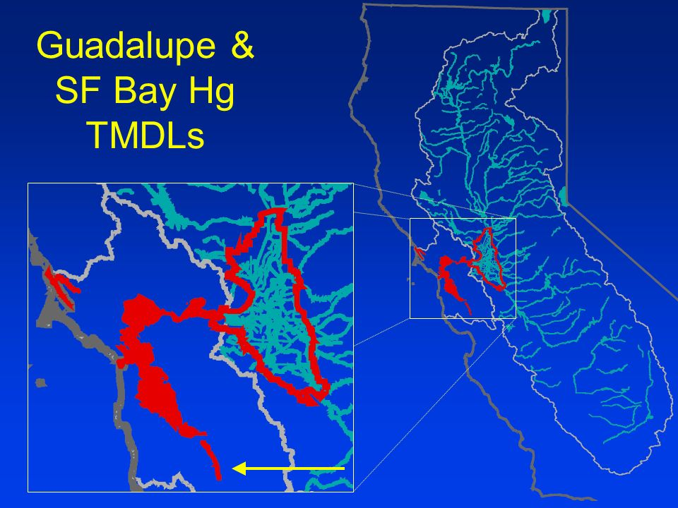 Guadalupe & SF Bay Hg TMDLs
