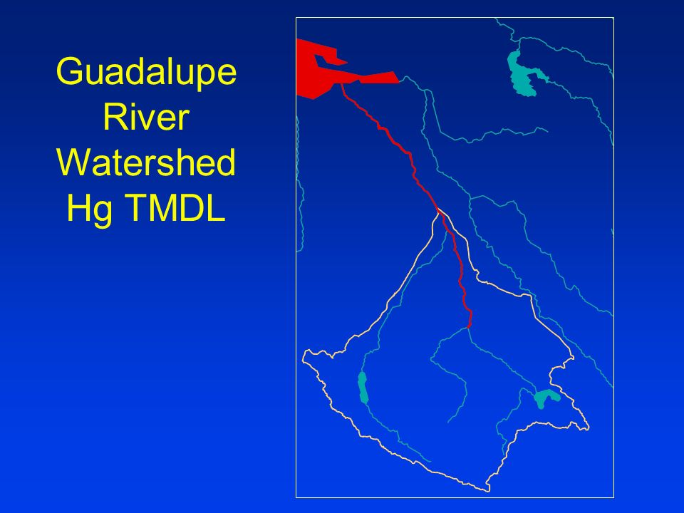 Guadalupe River Watershed Hg TMDL