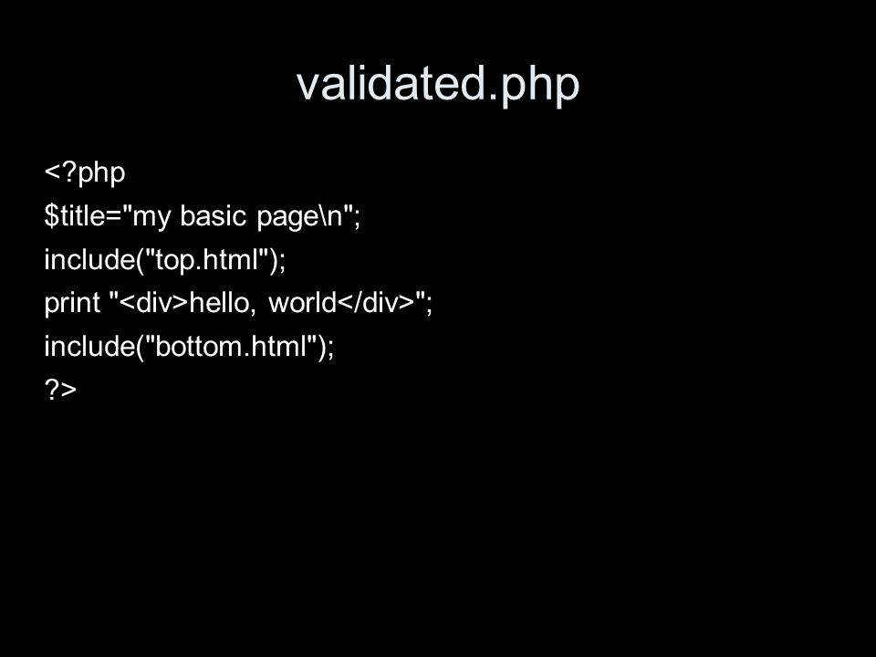 validated.php <?php $title=