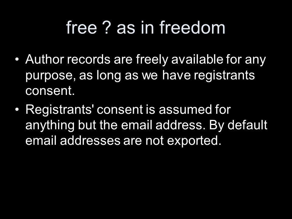 free .
