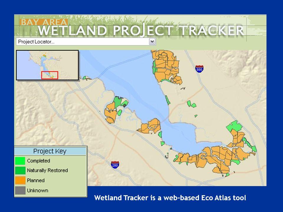 Wetland Tracker is a web-based Eco Atlas tool