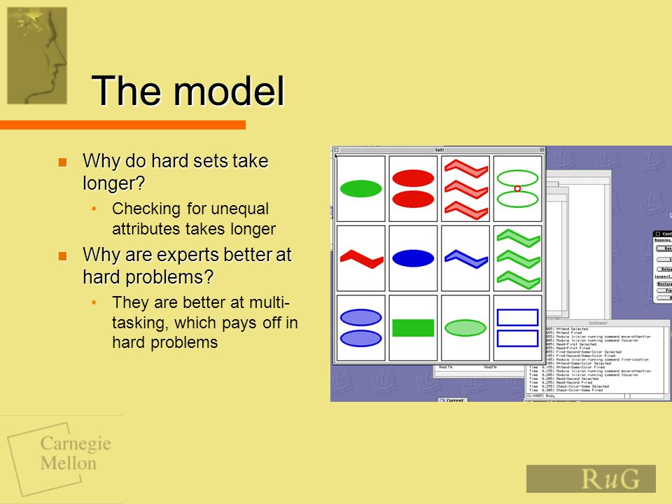 The model Why do hard sets take longer. Why do hard sets take longer.