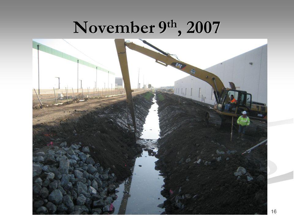 16 November 9 th, 2007