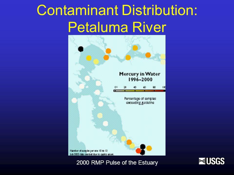 2000 RMP Pulse of the Estuary Contaminant Distribution: Petaluma River