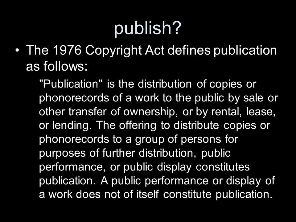 publish.