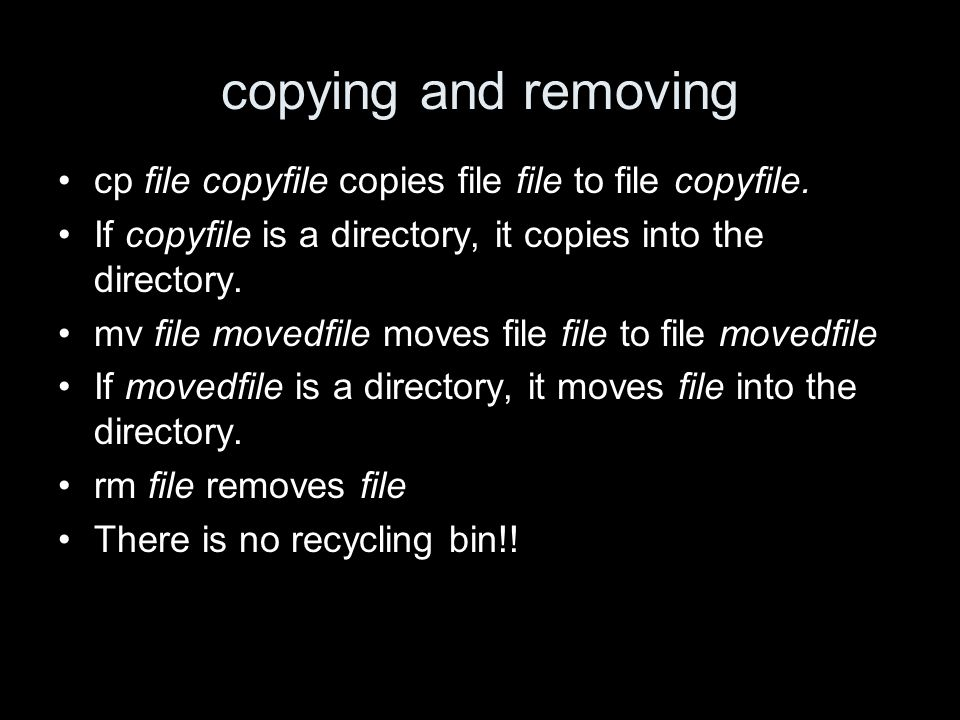 copying and removing cp file copyfile copies file file to file copyfile.