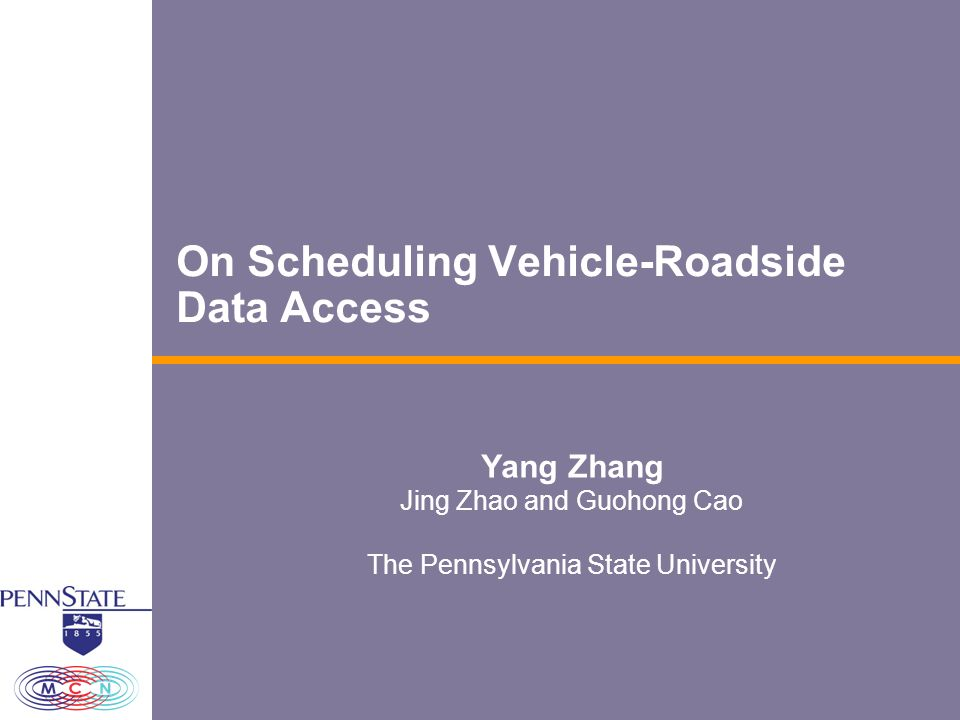 22 VANET 2007, Sept 10 th, Montreal, Canada Conclusion We addressed some challenges in vehicle-roadside data access We proposed a basic scheduling scheme called D*S to consider both service deadline and data size when making scheduling decisions.