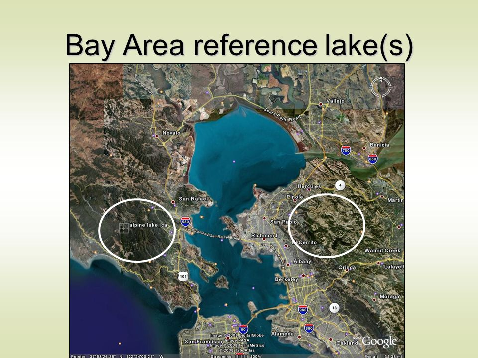 Bay Area reference lake(s)