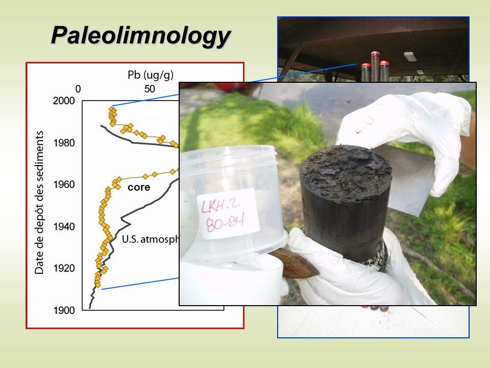 Paleolimnology core