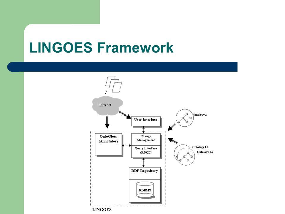 LINGOES Framework