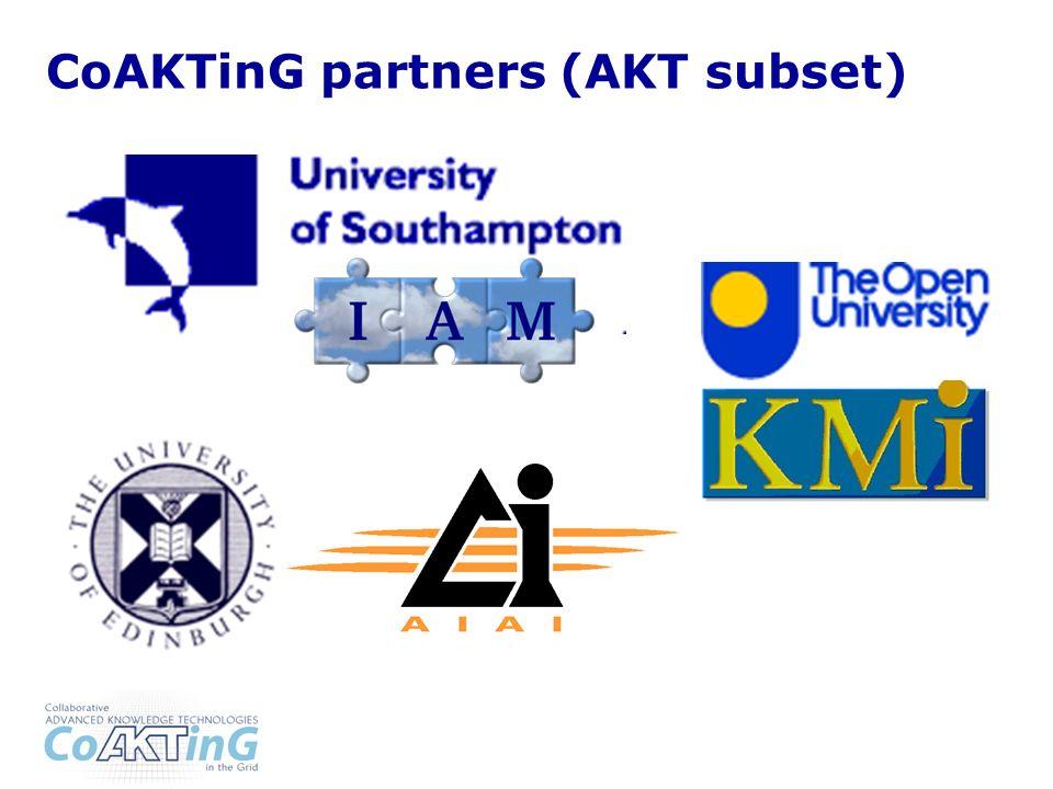 CoAKTinG partners (AKT subset)