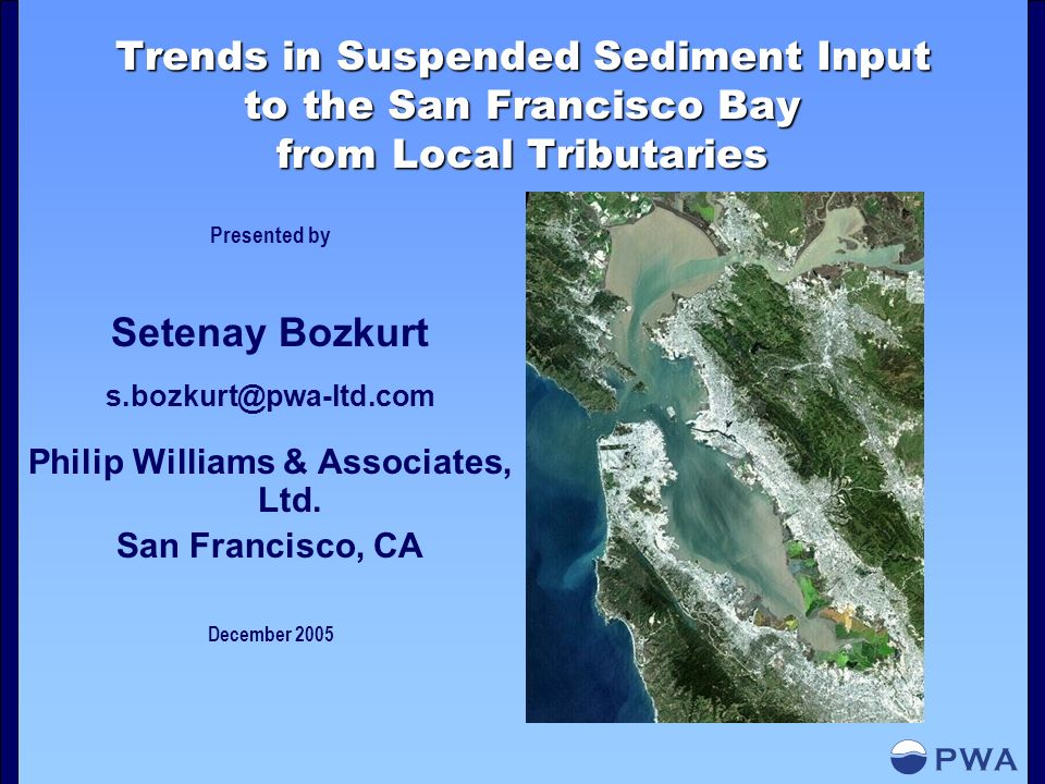 Sediment Yield: Agricultural sources