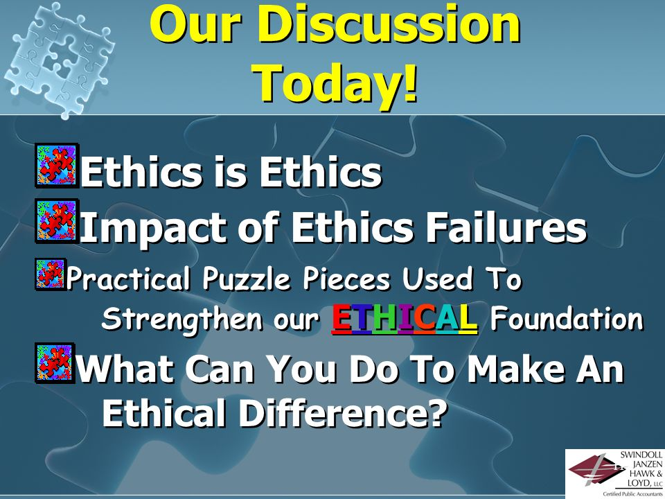 ETHICS EXPERT: NOT…BUT I do have a PASSION to live ETHICALly! I am not an ETHICS expert…but I do have to understand its IMPLICATIONS on my life, famil